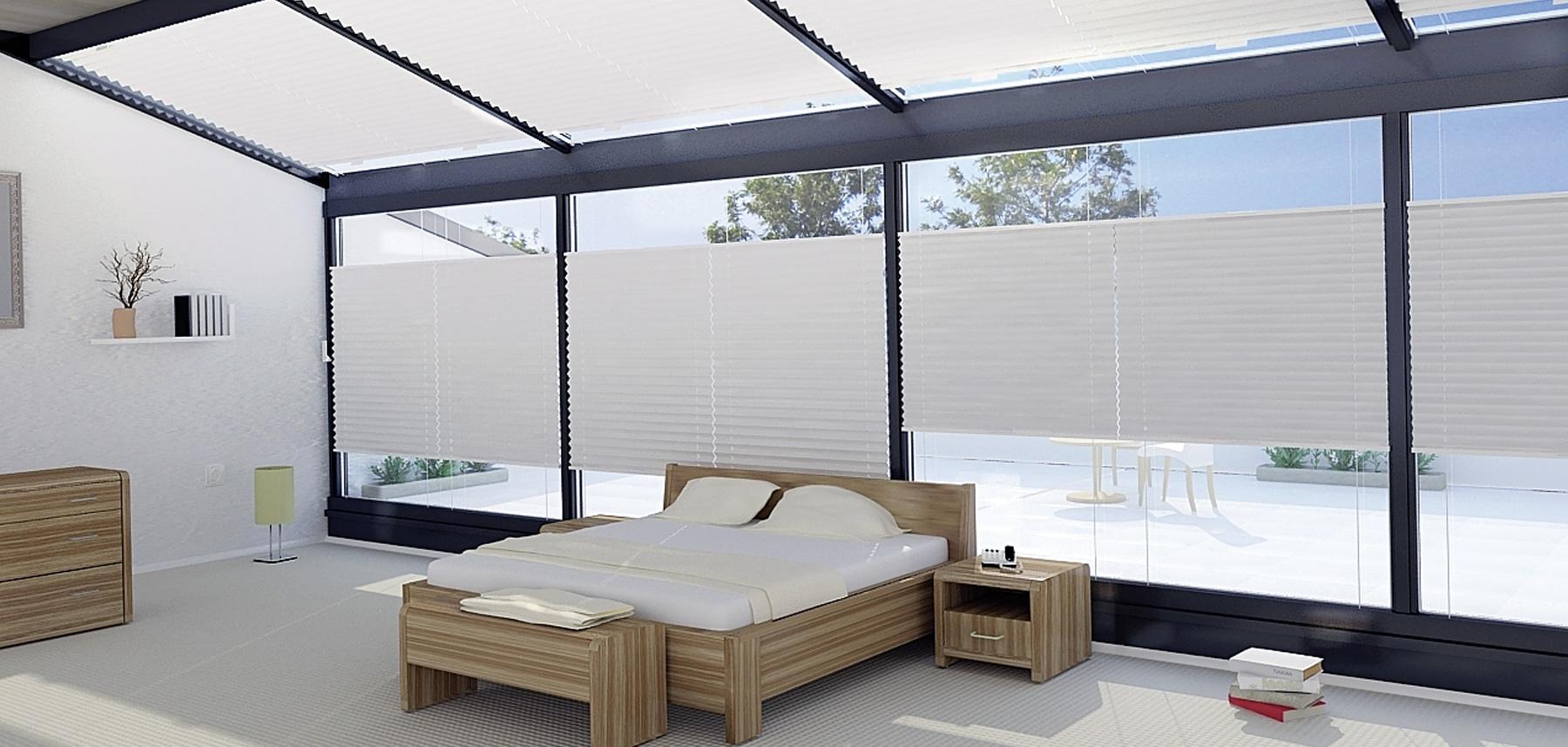 Nietypowe plisy – dobierz odpowiedni wariant pod Twoje okna.